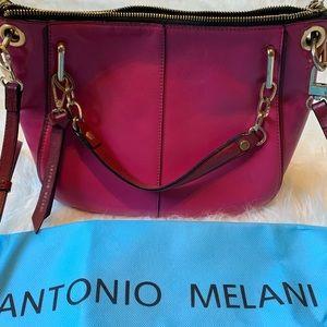 Antonio Melani Hot Pink Crossbody Purse